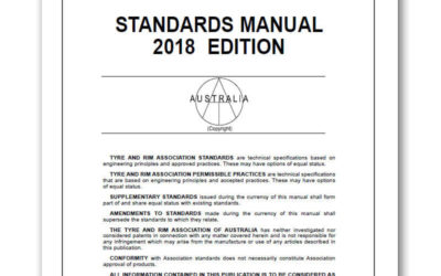 Revisions to 2018 Tyre & Rim Australian Standards Manual